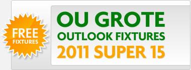 2011 Super 15 rugby fixtures